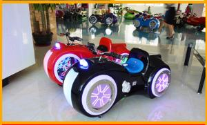 China DC 24V Battery Operated Bumper Cars , Kids / Adult Bumper Cars With Music Function on sale