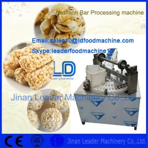 China Nutrition Bar Product Making machine on sale