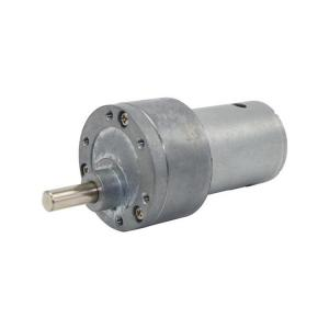 China Customized DC Gear Motor 12v 37mm Offset Shaft Gearbox OEM / ODM Available on sale