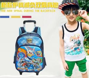 China Marvel Avengers Assemble School Travel Trolley Roller Wheeled Bag Brand New on sale