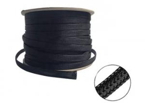15mm Heat Resistant Wire Sleeve , Expandable ided ... Heat Resistant Wiring Sleeves on