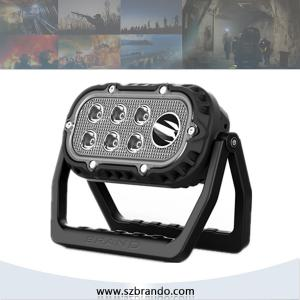 China BRANDO NEW design 10w explosion proof led working lights with 12000mAh Li-ion Battery on sale
