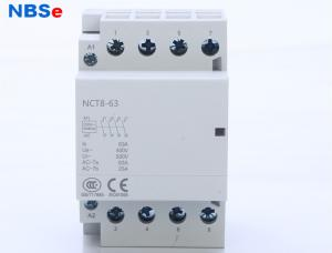 China NBSe NCT 8 AC Electrical Magnetic Contactor Din Rail Normally Open For Household on sale