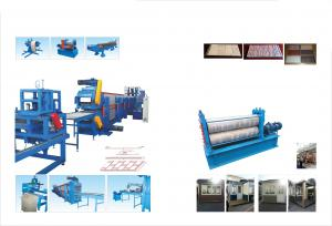China Decorative Wall And Ceiling Panel Metal Embossing Machine Continuous Line on sale