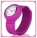 China lovely silicone slap watch for kids wholesale