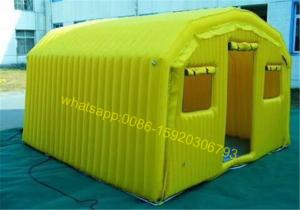 China yellow outdoor camping tent on sale