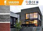 6mm - 10mmの適用範囲が広い粘土の壁のタイル、耐火性の外部の装飾材料
