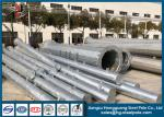 Hot Dip Galvanized ASTM A123 Steel Power Pole