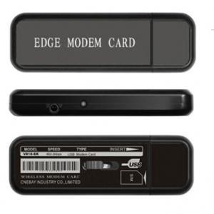 China High speed 3G 230.6Kbps - 460.8Kbps CDMA Evdo Modem USB 2.0 EDGE MODEM CARD on sale