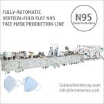 Fully-automatic N95 Respirator Making Machine Mask Production Line