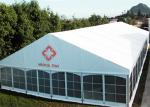 High Strength Outdoor Temporary Storage Tent , Large Capacity Field Hospital Tent