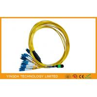 Multi - Fiber Bundle MTP MPO Cable , MPO - LC Fan Out Patch Cord 2mm