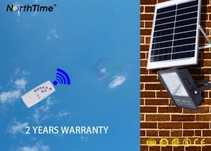 China Motion Sensor Security Solar LED Garden Lights Charging Time 15 - 20Hs on sale