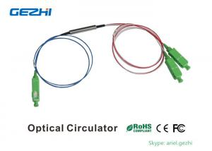 China SC/APC 3 Port Optical Circulator 1310nm Low Insertion Loss for Fiber Optical Instrument on sale