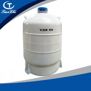 China TianChi Liquid Nitrogen Biological Container 50L Aviation Aluminum Tank Price on sale