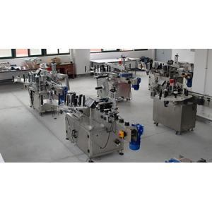 China HIGEE Automatic Water Bottle Labeling Machine220V 1.5HP 20-200 Pcs/Min Speed on sale