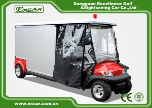 Hospital Electric Ambulance Car For 2 Person 20% Climbling