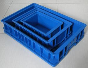 China Brand new ready/used/finished plastic injection turnover box mould on sale on sale