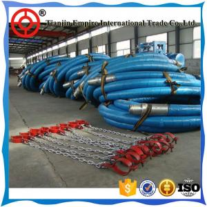 China Suction drilling Mud large diameter 4 layers steel wire hose on sale