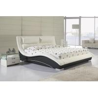 top sale modern pu leather bed bedroom furniture B07