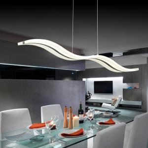 China Modern 38W White Acrylic LED Chandelier for Dining Room on sale