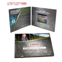 2.4 Inch TFT LCD Video Invitation Cards , JPG / JPEG Photo Format Video Production Brochure