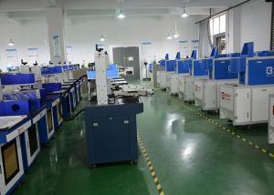 China Air - Cooling Laser Engraver Machine 7000 mm / s Metal Laser Marking Machine on sale