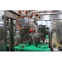 Small Liquid Beer Bottle Capping Machine Tea Drink And Alcohol Filling