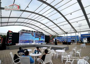 China 40 Span Width Clear Arcum Roof Outdoor Event Tents for 2016 China Open Tennis Sport on sale