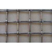China Professional stainless steel woven wire mesh / fence with Square Hole on sale