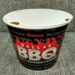 85 Oz Disposable Food Containers Customized Paper Fried Chicken Bucket