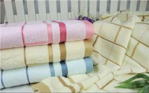 China 100% cotton jacquard personal towels with name on sale
