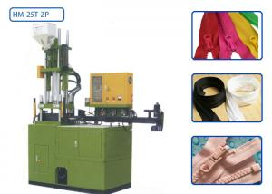 China 3 - 10 Size Plastic Zipper Making Machine , Vertical Plastic Injection Machine on sale