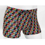 Custom Printed Mens Underwear Knitted Fabric Size L With Lattice Pattern