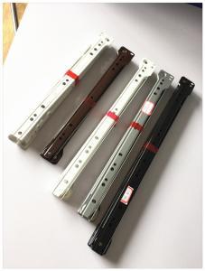 China Oem Odm Fgv Drawer Slides , Concealed Drawer Runners Black Color on sale