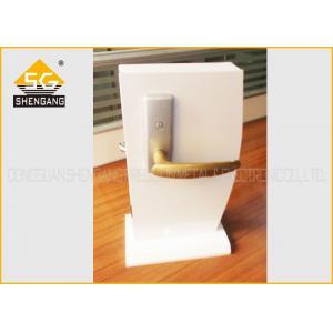 China Exterior Front Door Lock , Noise Elimination Door Handle Lock Of Zinc Alloy on sale