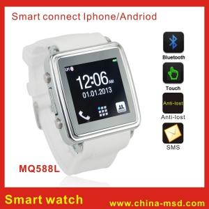 China 1.54 Inch Vibrating Smart Bluetooth Watch , for Iphone / Android Phones on sale