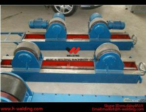 China Conventional 10 Ton Tank Welding Rotators for Boiler Industry , PU Roller Turning Rolls on sale