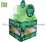Supermarket Big Size Box Cardboard Pallet Sleeves For Ratail Promotion