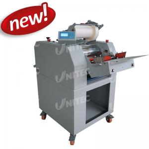 China Pneumatic One Sided Laminator Film Lamination Machine With Separator SH-380AF Automatic Feeding on sale