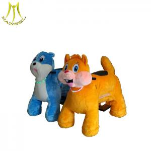 China Hansel  bearing 150kgs electric ride on horse plush electrical animal toy car toy animal ride electric on sale