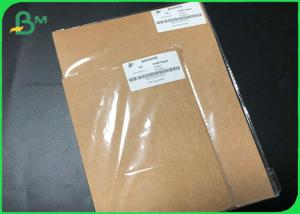 China A4 A5 size food packaging Brown Uncoated Kraft Paper Sheets with FDA Certificate wholesale