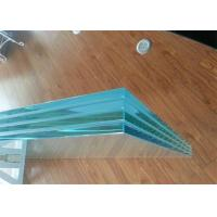 Colored / Clear PVB Laminated Glass 6.38mm 8.38mm 8.76mm Thickness For Construction