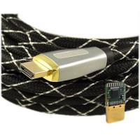 China 25 pies de cable DE ALTA VELOCIDAD de HDMI con Ethernet 18Gbps en pared valoraron on sale