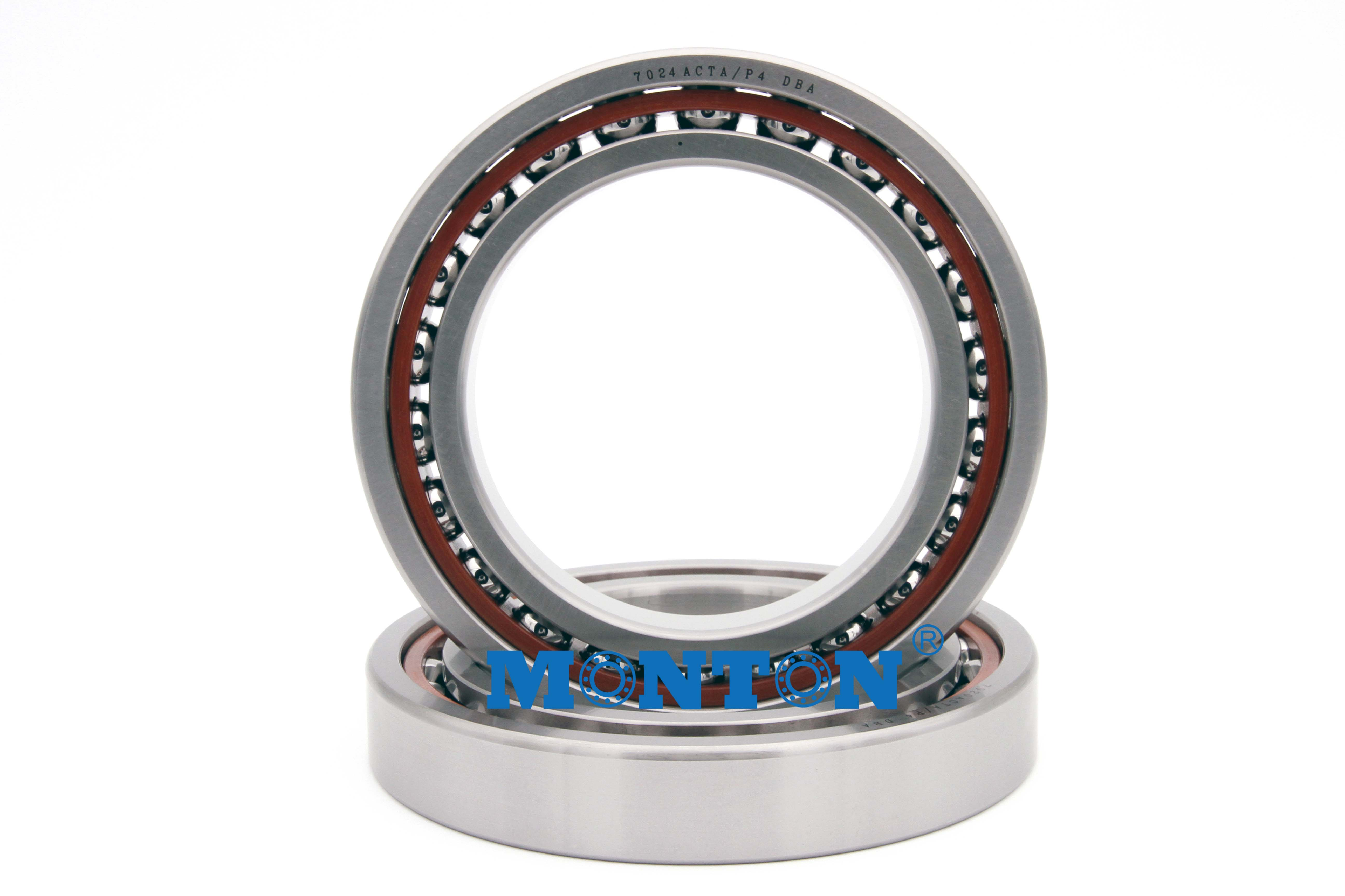 Matched Set of Two NSK 7011CTYNSULP4 Abec-7 Super Precision Spindle Bearings