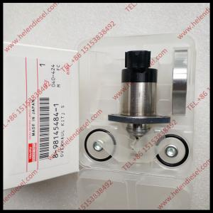 China Genuine and New suction control valve 8-98145484-1 ,8 98145484 1,8981454841,for pump 8-97386557-0/8-97381555-0/294000-04 on sale