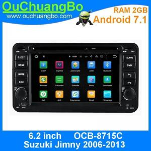 China Ouchuangbo 6.2 inch multi media android 7.1 for Suzuki Jimny 2006-2013 with gps navigation bluetooth SWC Wifi USB on sale