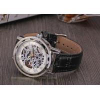 Winner Fashion Mens WristWatches With Handwinder , Swiss Wrist Watch