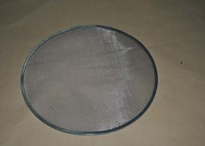 China Closed Edge SS Wire Mesh Filter Disc With Round / Square , Hot Resistance on sale