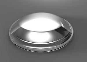 China 106.3mm Diameter Led Optical Lens With 100W - 300W In Highbay Lighting on sale